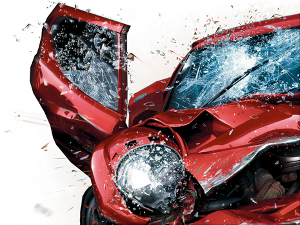 car after crash